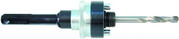 Adapter SDS-plus für Multi Lochsäge 32 - 127 mm, inkl. Zentrierbohrer