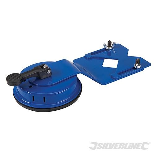Verstellbare Fliesen-Bohrvorrichtung und Lochsägenführung 1-55mm