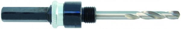 Adapter Quick Lock für Multi Lochsäge bis 30 mm, inkl. Zentrierbohrer