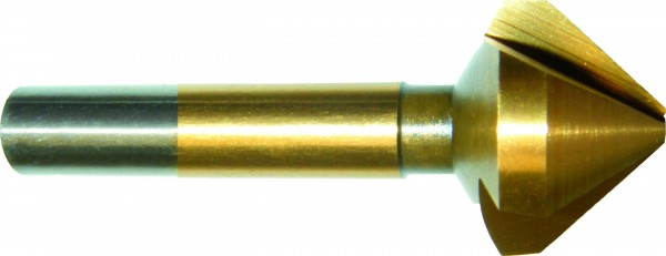 Kegelsenker 90° 12,40 mm HSS TIN DIN 335 Form C