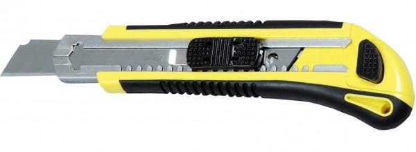 Cuttermesser mit 18mm einziehbarer Klinge und 5 Klingen