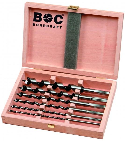 Bohrcraft Schlangenbohrer 8 tlg. 235mm Holzkassette