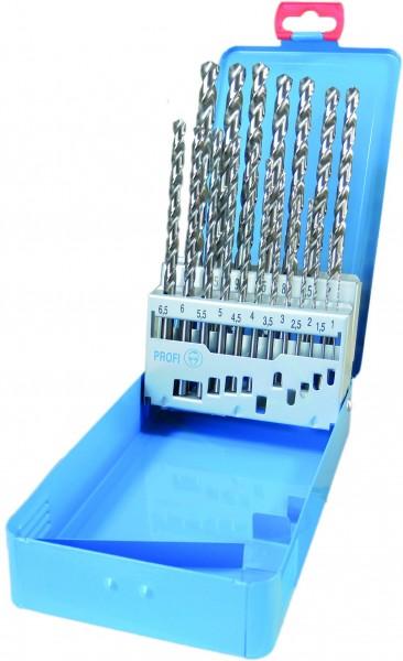 19 tlg. DIN 340 HSS-G 1,0 – 10,0mm mit Kreuzanschliff