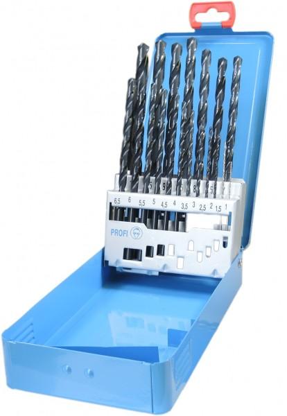 19 tlg. DIN 340 HSS RN 1,0 - 10,0mm