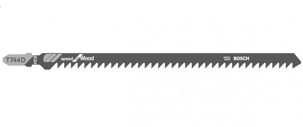 T744D HCS Stichsägeblatt 180mm lang Holz VPE 3 Stück! Bosch