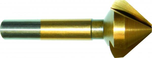 Kegelsenker 90° 8,00 mm HSS TIN DIN 335 Form C