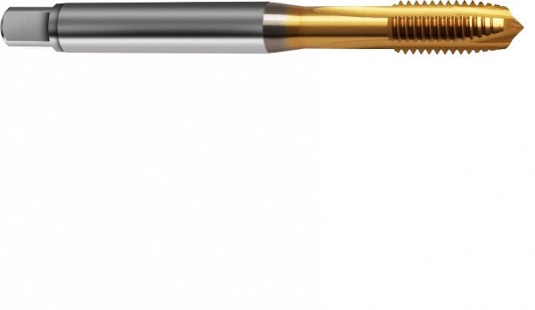 DIN 371/376 B HSS Co M20 PM TIN verstärkter Schaft