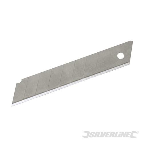 Cuttermesser Abbrechklingen 18mm - 10tlg. Ersatzklingen